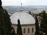В день Вознесения Господня на Елеонской горе в Иерусалиме прошли праздничные богослужения