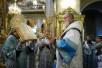 Патриаршее служение накануне дня памяти Казанской иконы Божией Матери. Чин наречения архимандрита Лазаря (Гуркина) во епископа Нарвского, викария Таллинской епархии.