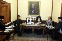 Состоялись переговоры Святейшего Патриарха Константинопольского Варфоломея и Святейшего Патриарха Московского и всея Руси Кирилла