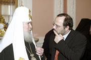 Святейший Патриарх Алексий:'Московский Патриархат всегда стремится развивать братские отношения равноправного сотрудничества со всеми Поместными Церквами'