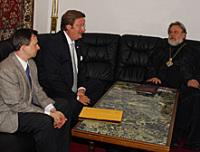 Постоянное представительство Русской Православной Церкви в Германии посетил обер-бургомистр Дюссельдорфа