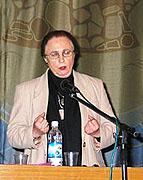 В Санкт-Петербурге с публичными лекциями выступила профессор Кембриджского университета, прихожанка Сурожской епархии Ирина Кириллова