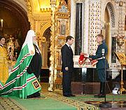 В Храме Христа Спасителя состоялось торжественное богослужение в день завершения Архиерейского Собора