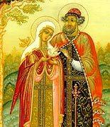 Во всех храмах Русской Православной Церкви в день памяти святых Петра и Февронии Муромских совершаются праздничные богослужения