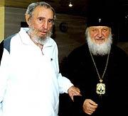 Фидель Кастро считает митрополита Кирилла своим союзником в противостоянии американскому империализму