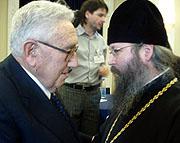 Представитель Православной Церкви в Америке при Московском Патриархате встретился с доктором Генри Киссинджером