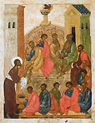 В Великий Четверг Святейший Патриарх Кирилл совершит чин омовения ног