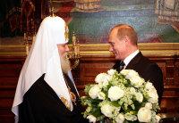 В день рождения Святейшего Патриарха Алексия Президент РФ нанес визит в Резиденцию Предстоятеля в Чистом переулке
