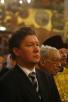 Божественная литургия в Успенском Патриаршем соборе Кремля в день святителя Филиппа, митрополита Московского