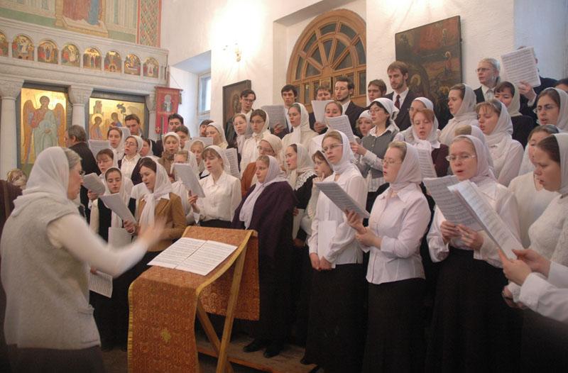 Патриаршее служение в храме ПСТГУ — церкви Живоначальной Троицы в Вешняках.