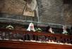 Визит Святейшего Патриарха Кирилла в Константинопольский Патриархат. День второй. Посещение выставки, посвященной местам паломничества на территории Турции. Выступление хора московского Сретенского монастыря.