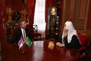 Святейший Патриарх Алексий принял посла США в России Уильяма Бернса