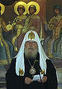 Патриаршее слово на торжественном приеме в Грановитой палате Кремля