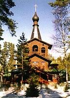 О храме в честь Казанской иконы Божией Матери в поселке Вырица