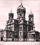 На месте уничтоженного храма Воскресения Христова на площади Кулибина в Санкт-Петербурге установлен поклонный крест
