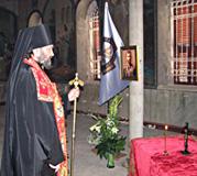 В Сергиевском подворье в Иерусалиме совершено первое после возвращения его России богослужение