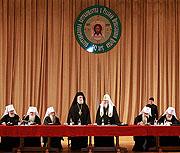 Святейший Патриарх Алексий открыл в Храме Христа Спасителя научную конференцию 'Патриаршество в Русской Православной Церкви'