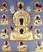В Богоявленский приход Московского Патриархата в городе Ньюкасл (Австралия) была принесена чудотворная Курская-Коренная икона Божией Матери