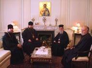 Управляющий Патриаршими приходами в США встретился с главой Греческой Архиепископии Вселенского Патриархата
