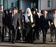 Завершился визит Предстоятеля Русской Православной Церкви в Соловецкий ставропигиальный монастырь и Архангельскую епархию