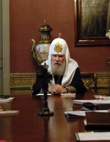 Слово Святейшего Патриарха Алексия на открытии заседания Священного Синода 16 мая 2007 года
