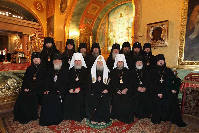Хиротония архимандрита Иеронима (Чернышова) во епископа Орловского и Ливенского