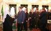 Встреча Святейшего Патриарха Алексия со слушателями Дипакадемии МИД РФ