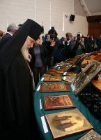 Федеральная таможенная служба передала Русской Православной Церкви более восьмидесяти икон