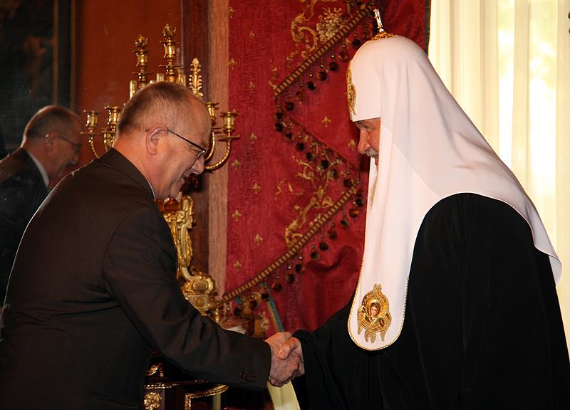 Встреча Святейшего Патриарха Кирилла с Послом Турции в России