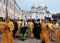 Завершился двухдневный визит Предстоятеля Русской Православной Церкви в Новгородскую епархию