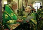 Старейший московский клирик протоиерей Герасим Иванов отметил 90-летие со дня рождения
