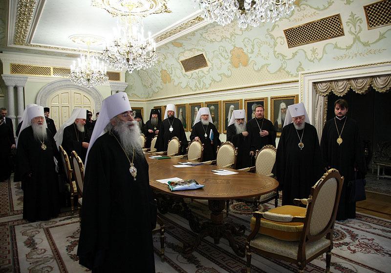 Заседание Священного Синода Русской Православной Церкви 6 декабря 2008 года