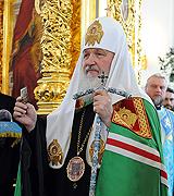 Слово Предстоятеля Русской Церкви после Божественной литургии в Курской Коренной пустыни