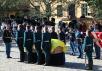 Церемония прощания с прахом императрицы Марии Федоровны
