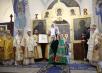 Патриаршее служение в Марфо-Мариинской обители. Передача частиц мощей преподобномучениц Елисаветы Феодоровны и Варвары.