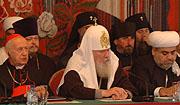 В Москве завершился Всемирный саммит религиозных лидеров