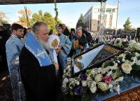 Завершился двухдневный визит Предстоятеля Русской Православной Церкви в Курскую епархию