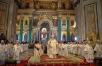 Патриарший визит в Санкт-Петербург. Божественная литургия в Исаакиевском соборе и церемония захоронения праха императрицы Марии Феодоровны.