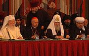 На заключительной пресс-конференции участники Всемирного саммита религиозных лидеров отметили важность прошедшего форума