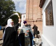 Предстоятель Русской Церкви посетил храмы города Витебска