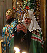 Слово Святейшего Патриарха после богослужения в храме Знамения иконы Божией Матери в Переяславской слободе