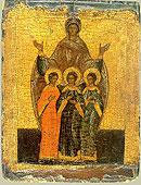 30 сентября Церковь отмечает память святых мучениц Веры, Надежды, Любови и матери их Софии