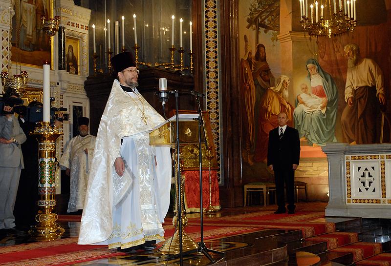 Подписание Акта о каноническом общении в единой Поместной Русской Православной Церкви
