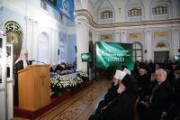 Святейший Патриарх Кирилл возглавил памятные мероприятия, посвященные 80-летию со дня рождения митрополита Никодима (Ротова)