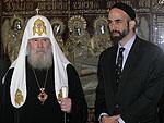 Состоялась встреча Святейшего Патриарха Алексия с принцем Гази Бен Мухаммадом Бен Талалом