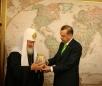 Визит Святейшего Патриарха в Анкару. День третий. Встреча с Премьер-министром Турции Р. Эрдоганом
