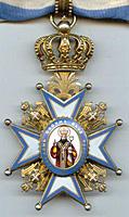 Президенту РФ Д.А. Медведеву вручен высший орден Сербской Православной Церкви