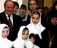 В Кузбассе при женском монастыре открылся приют для девочек