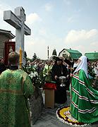 В ходе пребывания в Донецкой епархии Святейший Патриарх Кирилл совершил малое освящение Успенского собора Никольского Васильевского монастыря