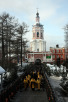 Молебен избранного Патриархом Московским и всея Руси митрополита Кирилла в Донском монастыре